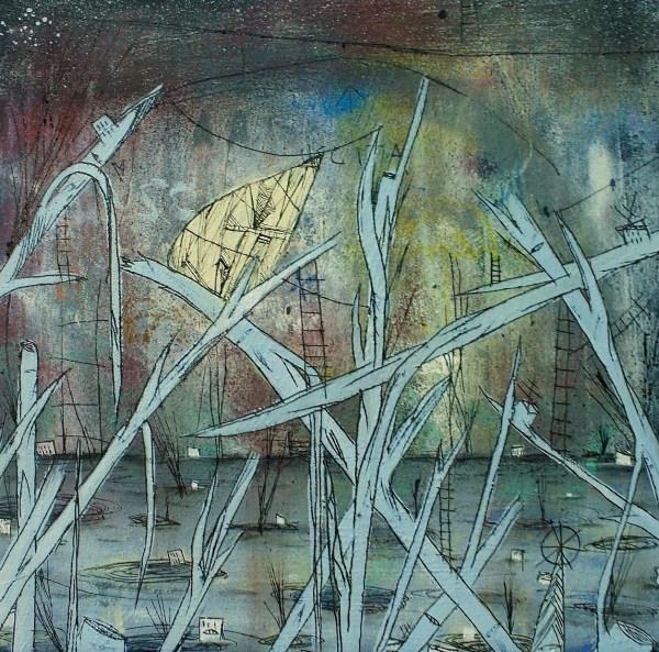 40x40 crisalide nella laguna 2012